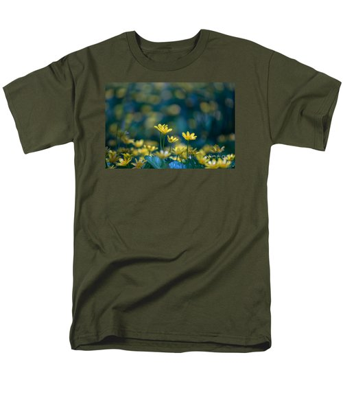 Men's T-Shirt  (Regular Fit) featuring the photograph Heart Of Small Things by Rima Biswas