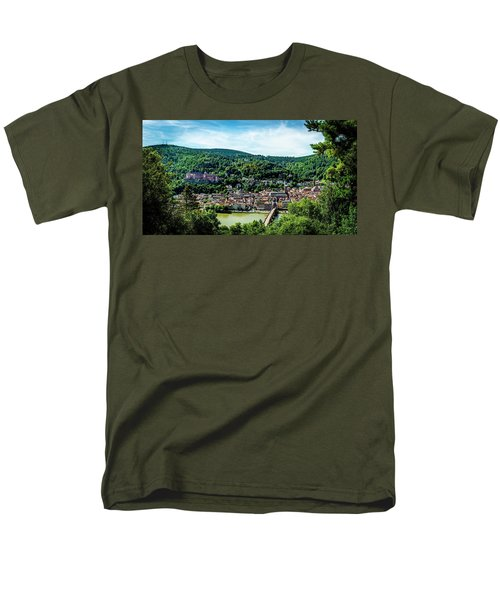 Men's T-Shirt  (Regular Fit) featuring the photograph Heidelberg Germany by David Morefield
