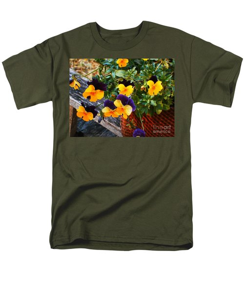 Men's T-Shirt  (Regular Fit) featuring the photograph Hello Spring by Donna Dixon