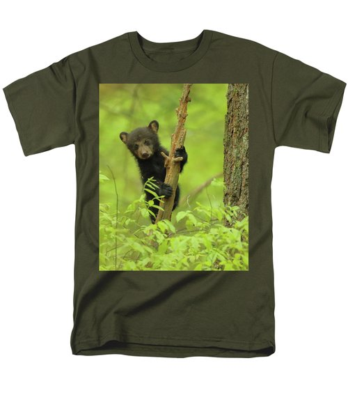 Men's T-Shirt  (Regular Fit) featuring the photograph Hello There by Coby Cooper