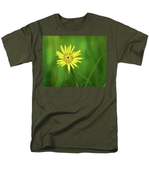 Men's T-Shirt  (Regular Fit) featuring the photograph Hello Wild Yellow by Bill Pevlor