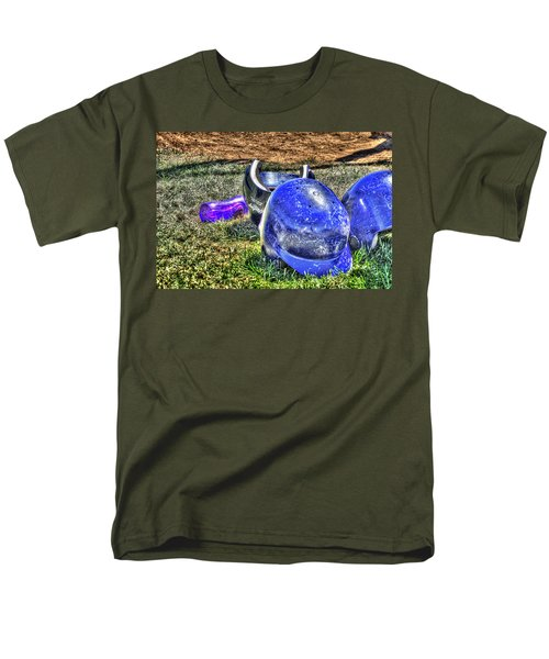 Helmets And Water 1808 Men's T-Shirt  (Regular Fit) by Jerry Sodorff