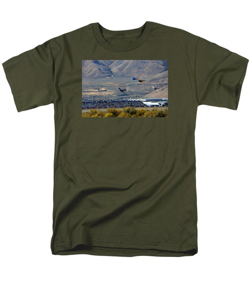Here's Looking Back At You.  T6 Race. Men's T-Shirt  (Regular Fit)