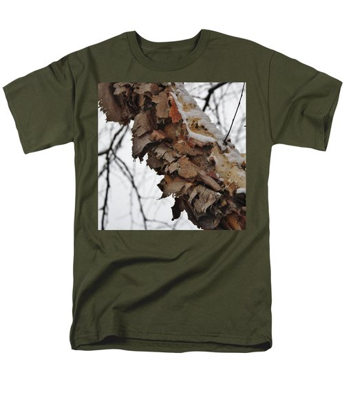 Men's T-Shirt  (Regular Fit) featuring the photograph Heritage Birch by Vadim Levin