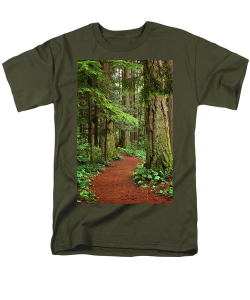 Heritage Forest 2 Men's T-Shirt  (Regular Fit) by Randy Hall