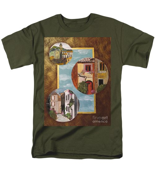 Men's T-Shirt  (Regular Fit) featuring the painting Heritage by Judy Via-Wolff