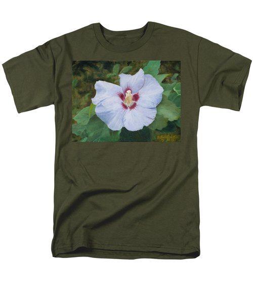 Men's T-Shirt  (Regular Fit) featuring the painting Hibiscus by Joshua Martin