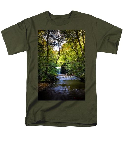 Men's T-Shirt  (Regular Fit) featuring the photograph Hidden Wonders by Marvin Spates