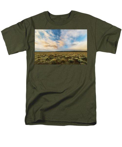 Men's T-Shirt  (Regular Fit) featuring the photograph High Desert Morning by Ryan Manuel