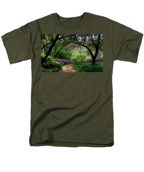 Highdown Gardens2 Men's T-Shirt  (Regular Fit) by John Topman