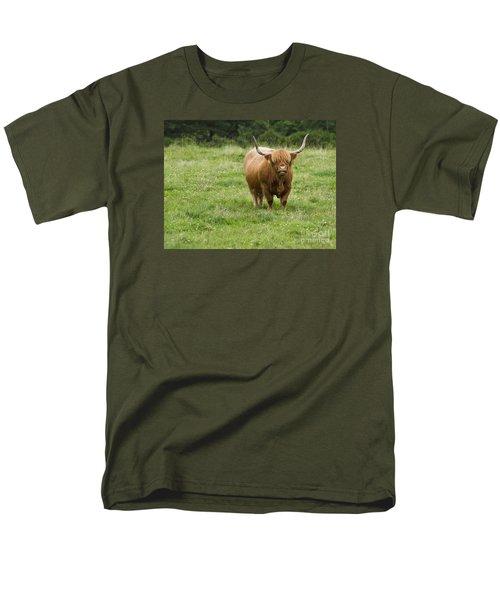 Highland Cattle Men's T-Shirt  (Regular Fit) by Diane Diederich