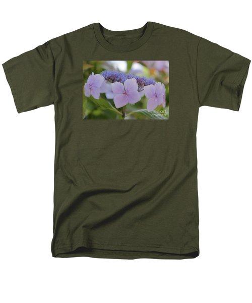 Highlands Hydrangea Men's T-Shirt  (Regular Fit) by Amy Fearn
