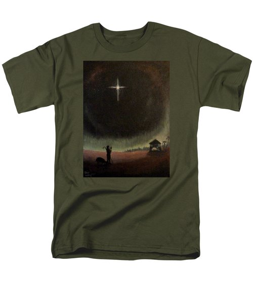 Men's T-Shirt  (Regular Fit) featuring the painting Holy Night by Dan Wagner