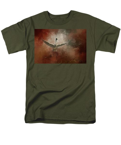 Men's T-Shirt  (Regular Fit) featuring the photograph Home Coming by Marvin Spates