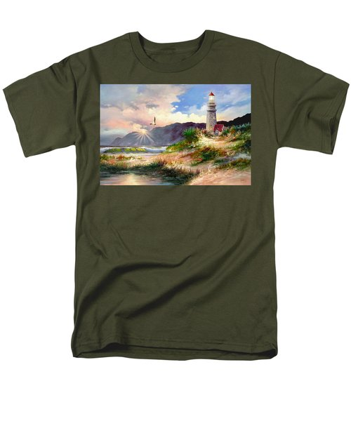 Home For The Night Men's T-Shirt  (Regular Fit) by Ron Chambers