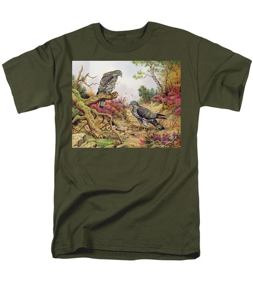 Honey Buzzards Men's T-Shirt  (Regular Fit) by Carl Donner