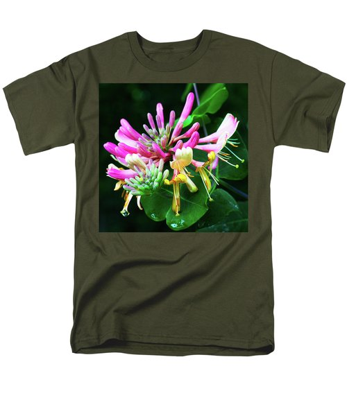 Honeysuckle Bloom Men's T-Shirt  (Regular Fit) by Robert FERD Frank
