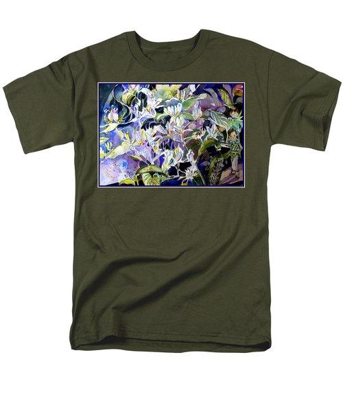 Honeysuckle Fairies Men's T-Shirt  (Regular Fit) by Mindy Newman