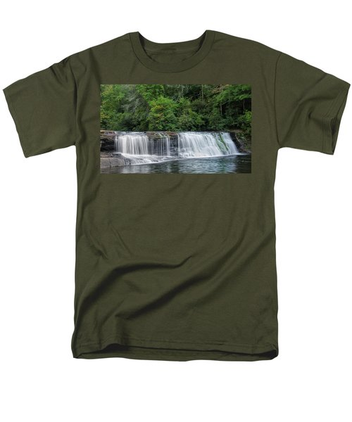 Hooker Falls Men's T-Shirt  (Regular Fit) by Steven Richardson