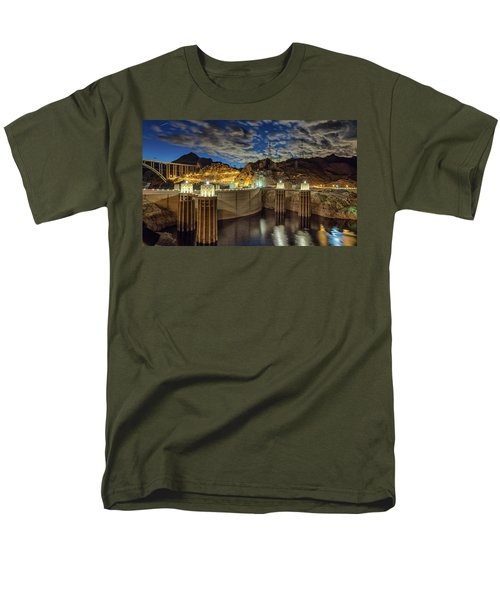 Hoover Dam Men's T-Shirt  (Regular Fit) by Michael Rogers