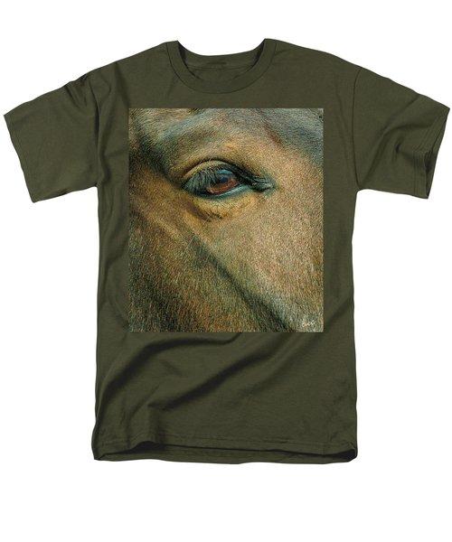 Horses Eye Men's T-Shirt  (Regular Fit) by Bruce Carpenter