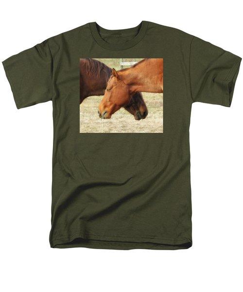 Horses In Sinc Men's T-Shirt  (Regular Fit) by MTBobbins Photography