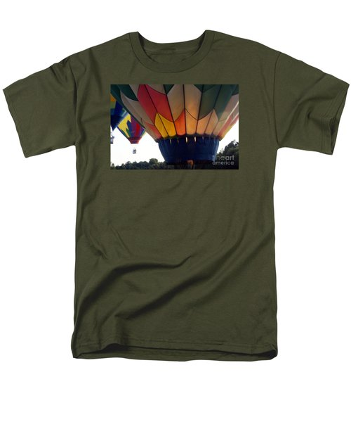Hot Air Balloon Men's T-Shirt  (Regular Fit) by Debra Crank