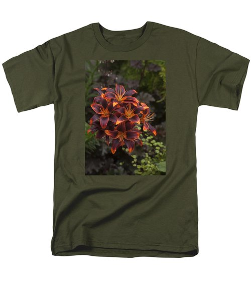 Hot Bouquet Men's T-Shirt  (Regular Fit) by Morris  McClung