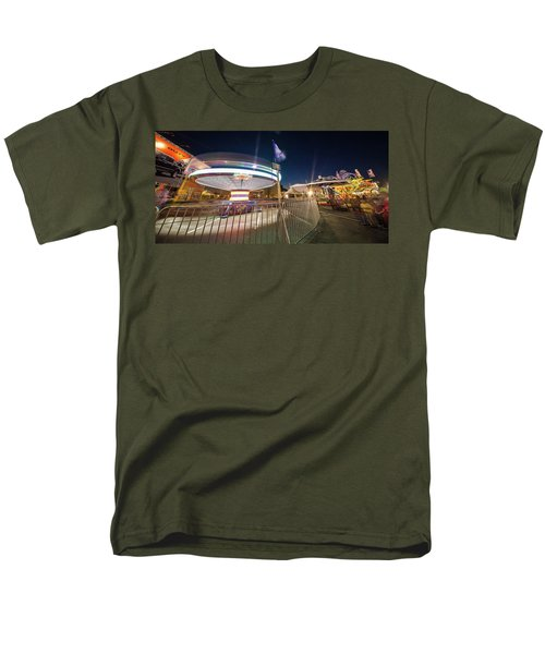 Houston Texas Live Stock Show And Rodeo #11 Men's T-Shirt  (Regular Fit) by Micah Goff