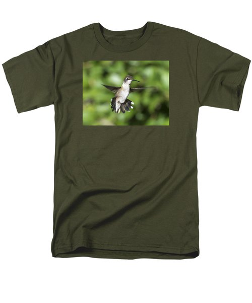 Hovering Hummer Men's T-Shirt  (Regular Fit) by Stephen Flint