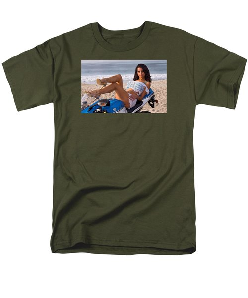 Men's T-Shirt  (Regular Fit) featuring the photograph How About Those Legs? by Lawrence Christopher