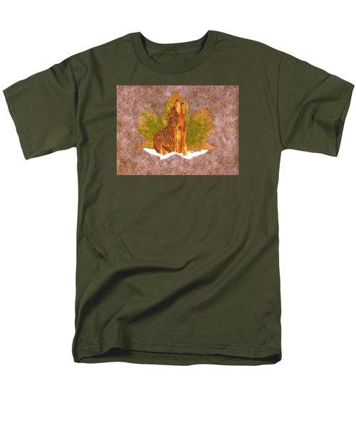 Howling Wolf Men's T-Shirt  (Regular Fit) by Ralph Root