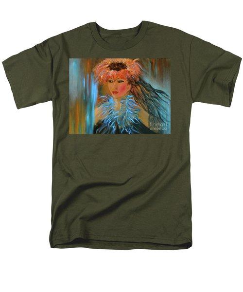 Hula In Turquoise Men's T-Shirt  (Regular Fit)