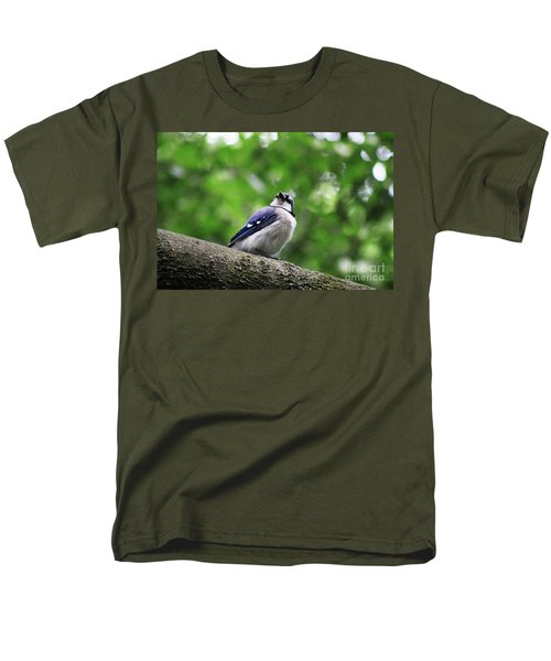 Men's T-Shirt  (Regular Fit) featuring the photograph I Hear Something by Alyce Taylor