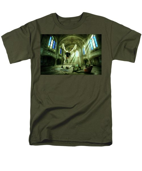 Men's T-Shirt  (Regular Fit) featuring the digital art I Want To Brake Free by Nathan Wright