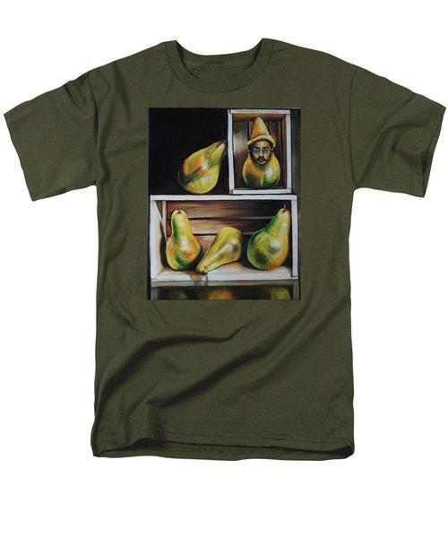 Toulouse-lautrec As A Pear Men's T-Shirt  (Regular Fit) by Jean Cormier