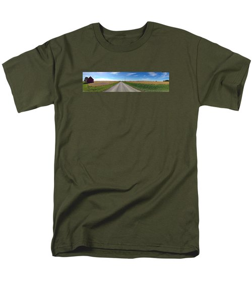 Illinois Landscape  Men's T-Shirt  (Regular Fit) by Tim Good
