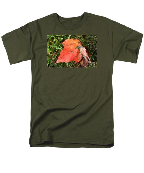 I'm Leafing This Place Men's T-Shirt  (Regular Fit) by Lew Davis