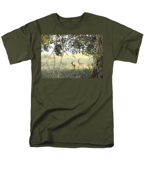 Impala Men's T-Shirt  (Regular Fit) by Patrick Kain