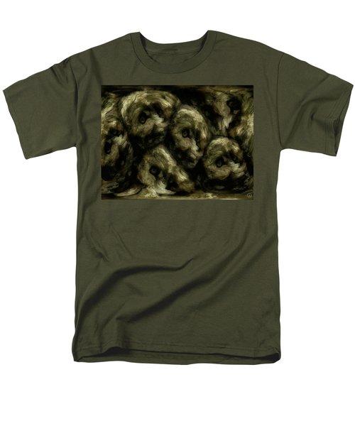 Men's T-Shirt  (Regular Fit) featuring the digital art In A Swedish Troll Forest by Gun Legler