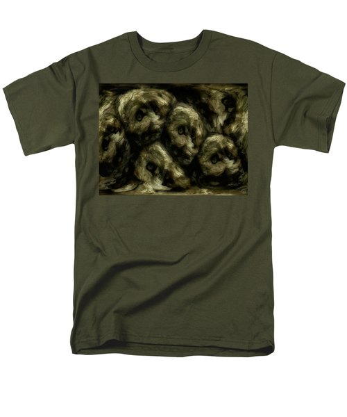 In A Swedish Troll Forest Men's T-Shirt  (Regular Fit) by Gun Legler