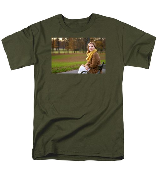 In The Park Men's T-Shirt  (Regular Fit) by Robert Krajnc