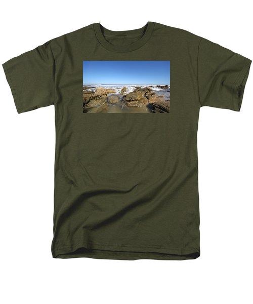 In The Rocks Men's T-Shirt  (Regular Fit) by Robert Och