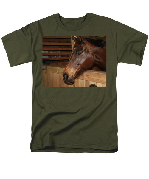 In The Stall Men's T-Shirt  (Regular Fit) by Roena King