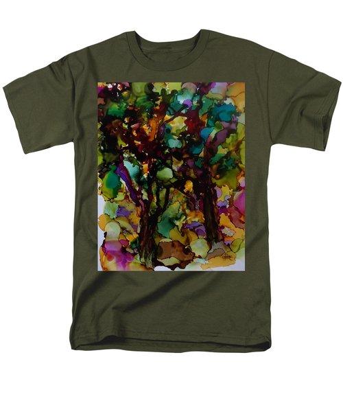 In The Woods Men's T-Shirt  (Regular Fit) by Alika Kumar