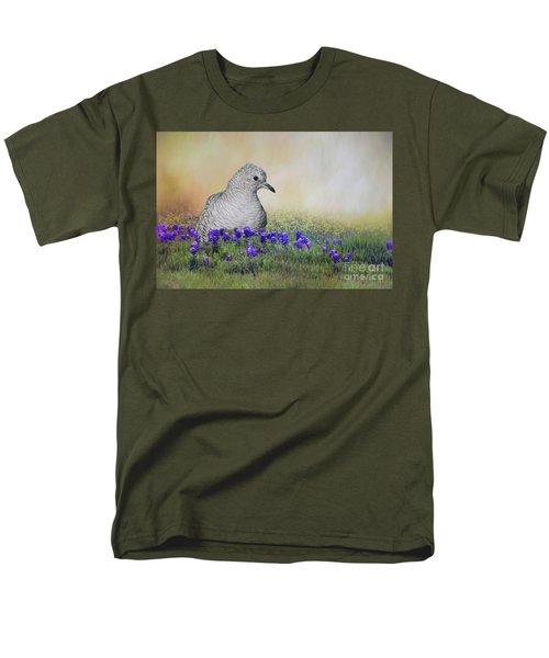 Inca Dove  Men's T-Shirt  (Regular Fit) by Bonnie Barry