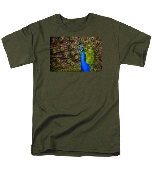 Men's T-Shirt  (Regular Fit) featuring the photograph India Blue by Rikk Flohr