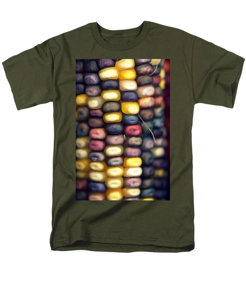 Indian Corn Men's T-Shirt  (Regular Fit) by Joseph Skompski