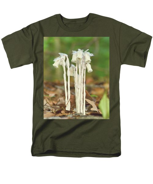 Indian Pipes Men's T-Shirt  (Regular Fit) by JD Grimes