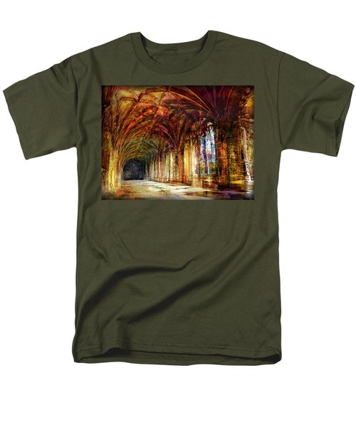 Inside 2 - Transit Men's T-Shirt  (Regular Fit) by Alfredo Gonzalez